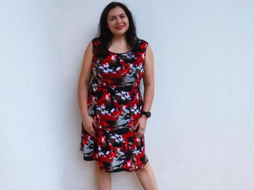 Tallin dress (Itch to Stitch)